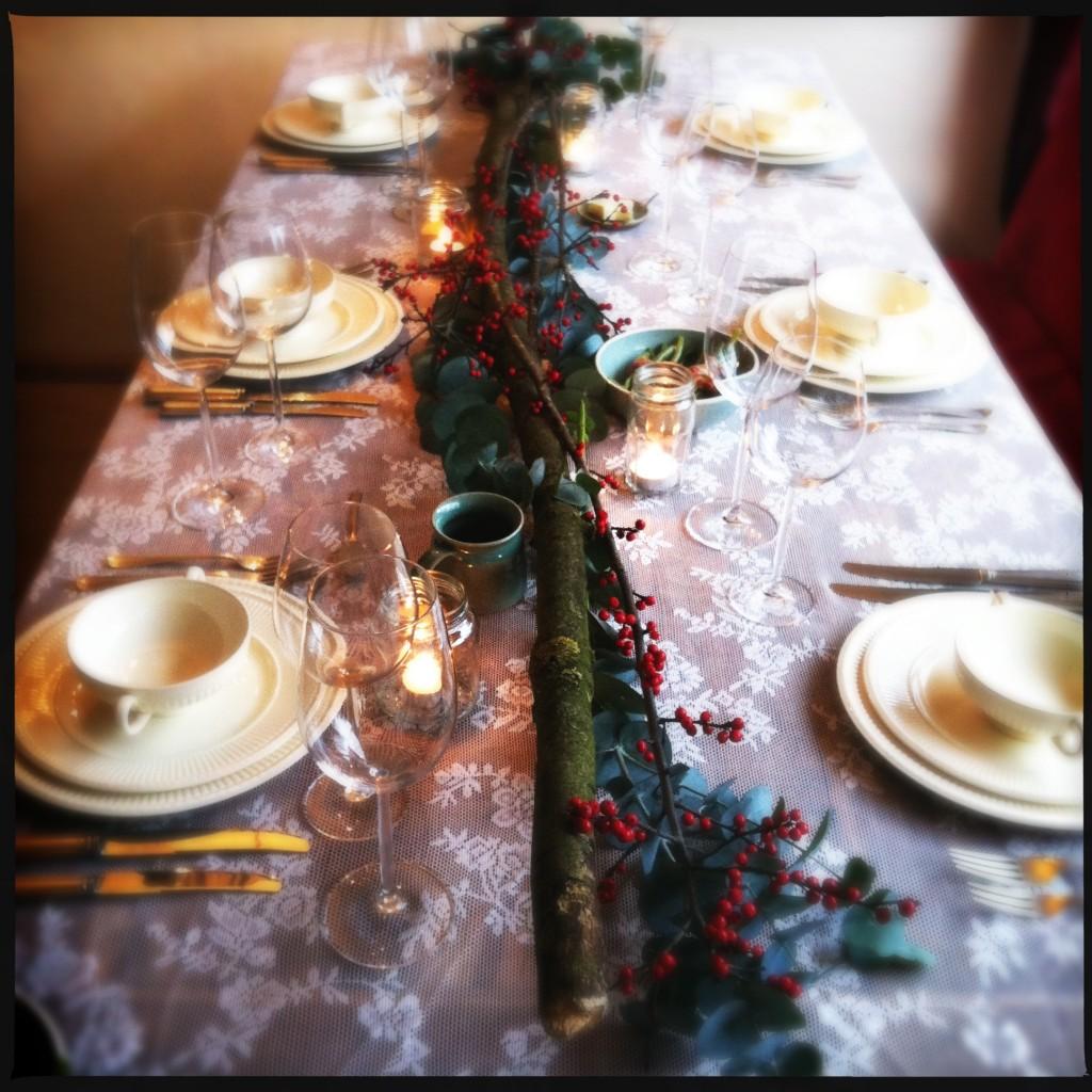 Kerstversiering Tafel: DIY Decoratie: Kersttafel