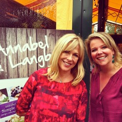 Annabel Langbein & me Made by Ellen