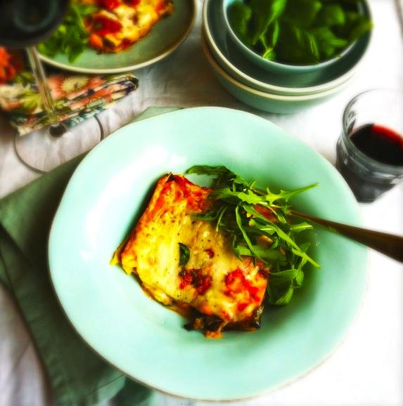 voorgerecht oven aubergine