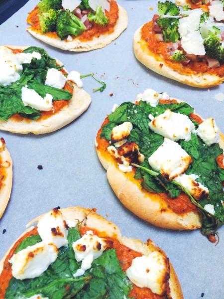 Zelf shoarma pizza maken