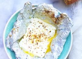 Feta kaas op de BBQ grillen made by ellen
