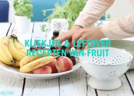 Koken met restjes fruit: hoe doe je dat?! - VIDEO made by ellen
