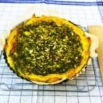 Hartige taart met spinazie en feta made by ellen