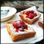 Quick summer strawberry dessert