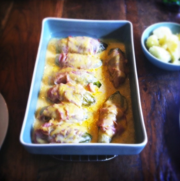 witlof ham uit de oven made by ellen