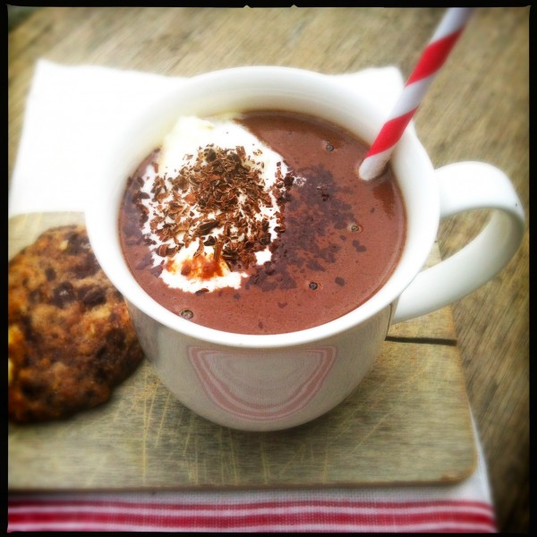 Made by Ellen Homemade hot chocolate