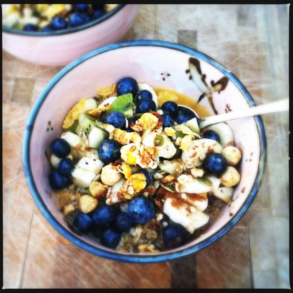 Gezond muesli ontbijt, made by ellen