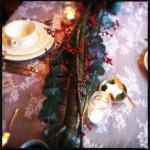 DIY decoratie: kersttafel