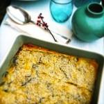 Baklava van wilde spinazie, feta & sesamzaadjes made by ellen