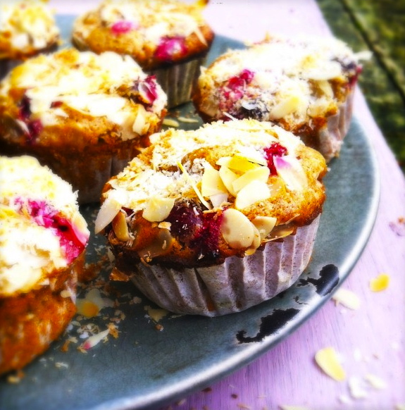 Made-by-Ellen-healthy-cranberry-muffins-met-amandelen-kokos-topping
