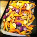 Vergeten groenten uit de oven