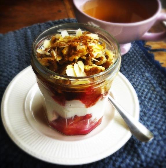 Gezond ontbijt met bloedsinaasappel made by ellen