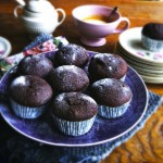 Decadente chocolade muffins made by ellen
