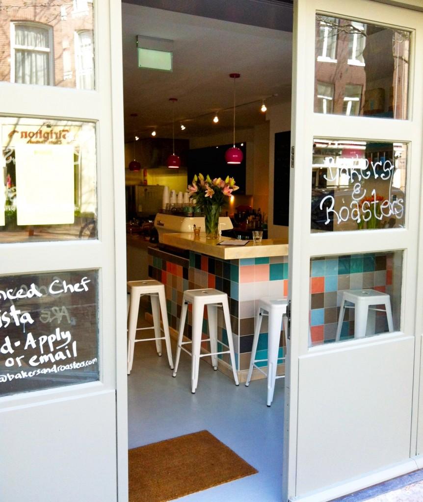 Made by Ellen Bakers & Roasters koffie lunch in Amsterdam