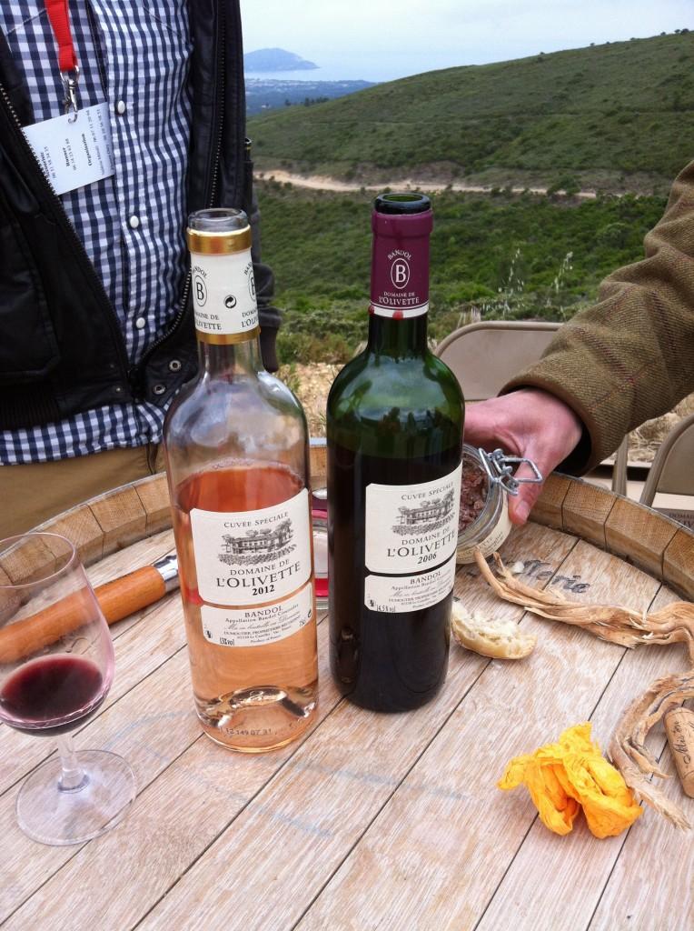 Bandol wijnen Made by Ellen