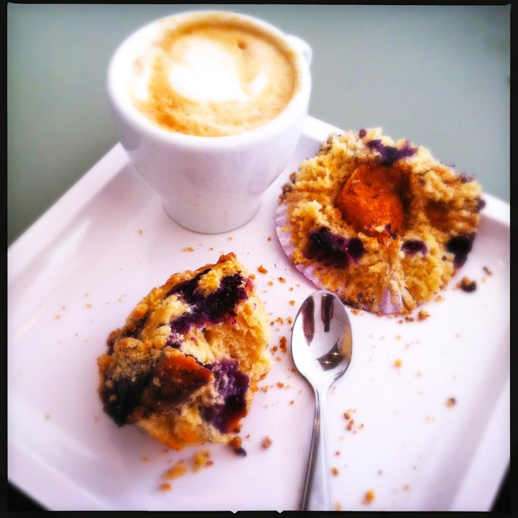 Blauwe bessen muffin Made by Ellen