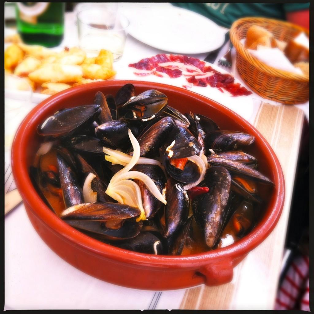 La Boveda's food
