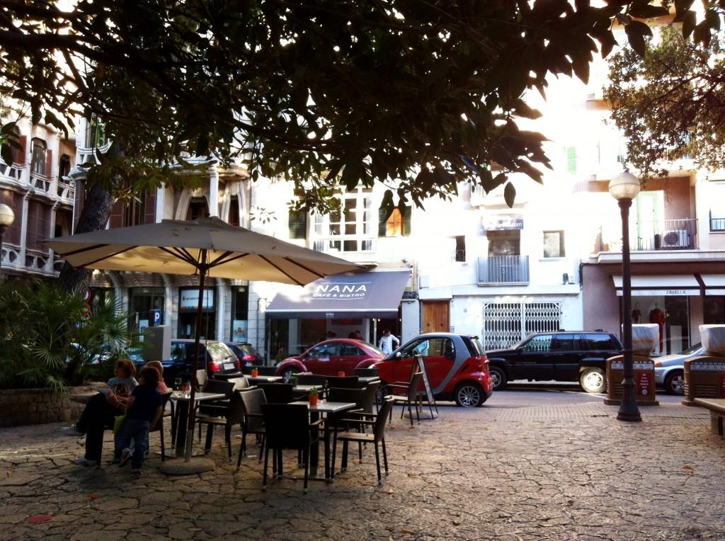 Prachtige pleintjes heeft Palma