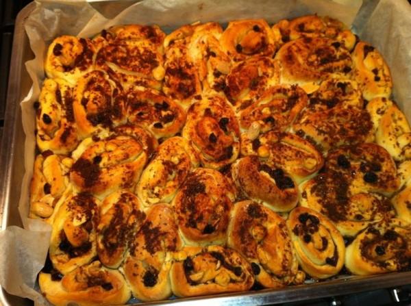 Zoete kaneel & noten broodjes Sarah