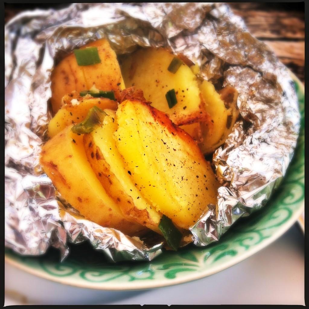 Aardappeltjes van bbq met bosui MAde by Ellen
