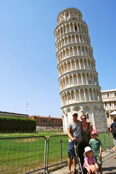 De toren van Pisa Made by Ellen