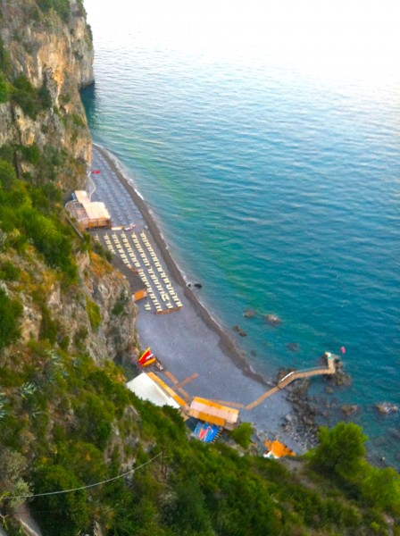 The beautiful beach Amalficoast Made by Ellen