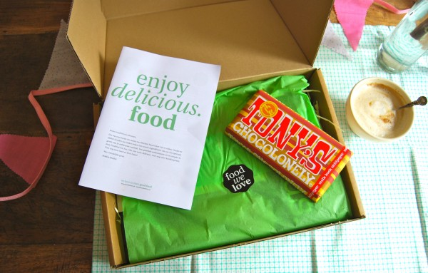 FoodWeLovebox Delicious Magazine Made by Ellen