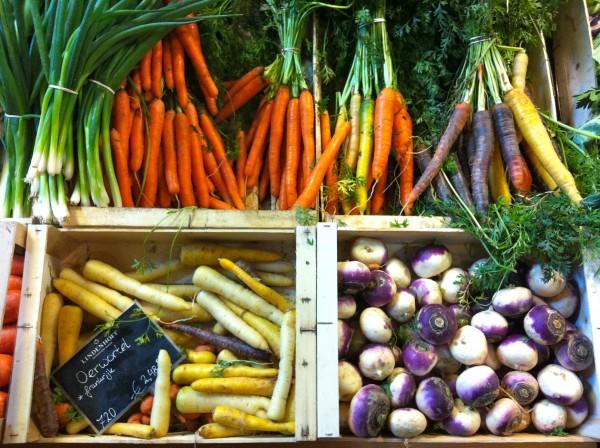 Kleurrijke groenten made by Ellen