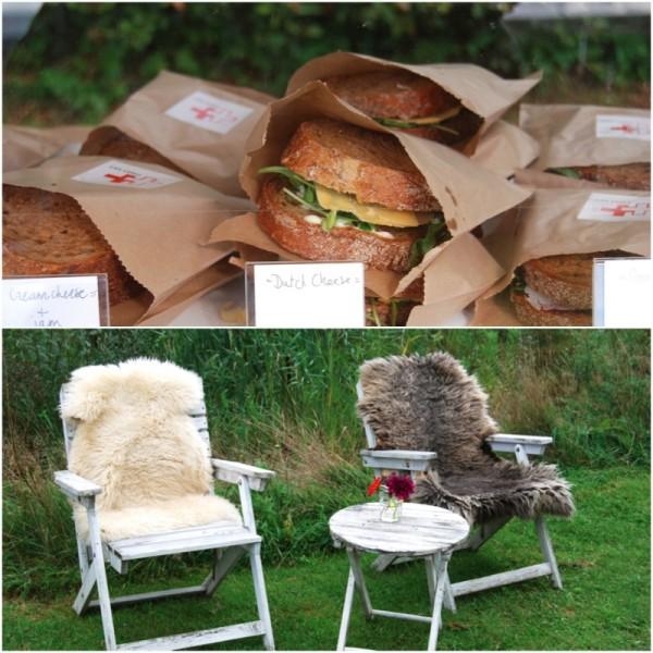 Lekker zitten met een broodje Made by Ellen
