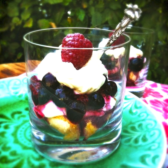Rood fruit tiramisu made by ellen