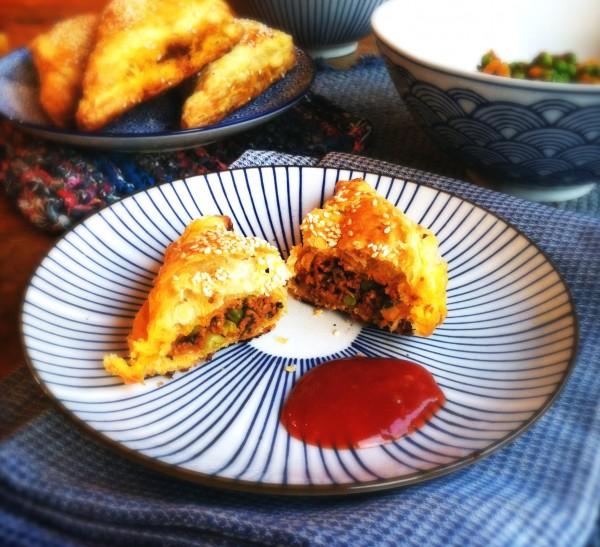 2x makkelijke Indiase pastei made by ellen