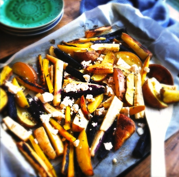 kleurige herfstgroenten uit de oven made by ellen