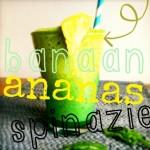 Groene smoothie met ananas