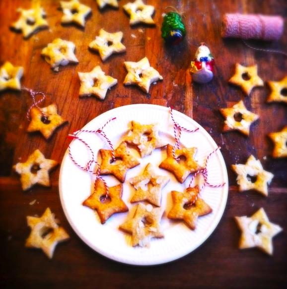 kerstkoekjes met citroenschil made by ellen