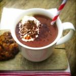 zelfgemaakte chocolademelk made by ellen