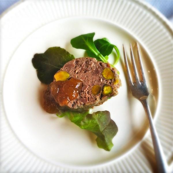 makkelijk zelfgemaakte paté met pistachenoten