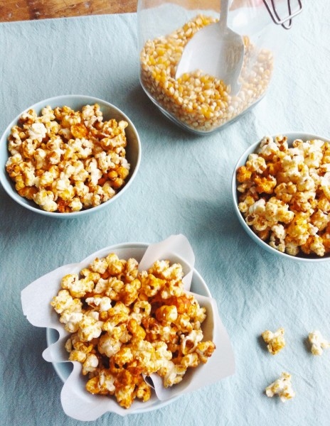 Popcorn maken made by ellen