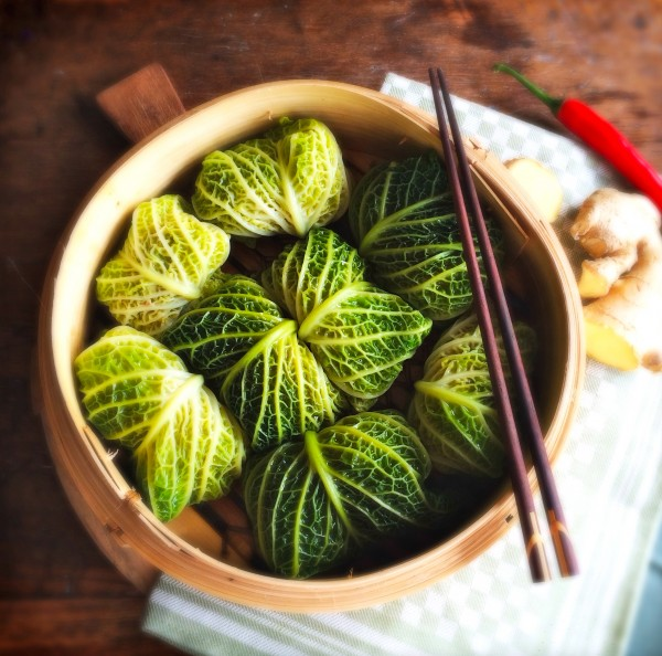Recept gestoomde savooiekool pakketjes made by ellen