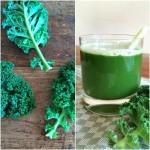 Verse groentesap met boerenkool, selderij & appel