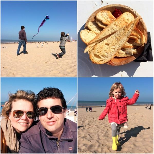 Dagje strand Noordwijk made by ellen