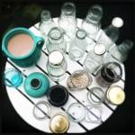 Wat doe jij met lege glazen & potjes? Made by ellen