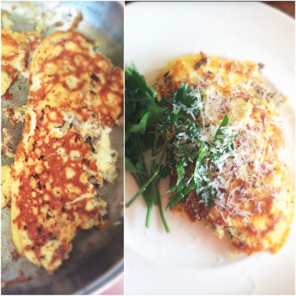 omelet made by ellen