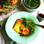 Aubergine lasagne vegetarisch recept
