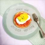 Egg benedict Gepocheerd ei gerookte zalm made by ellen
