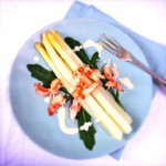 recept asperse salade met rivierkreeftjes made by ellen