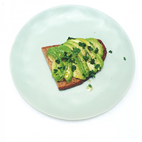 avocado toast made by ellen