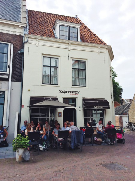 Koffiebar Expresszo in Middelburg made by ellen