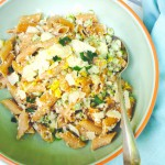 pasta met verse tuinbonen en bloemkool made by ellen