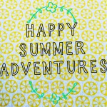 Happy summer adventures made by ellen