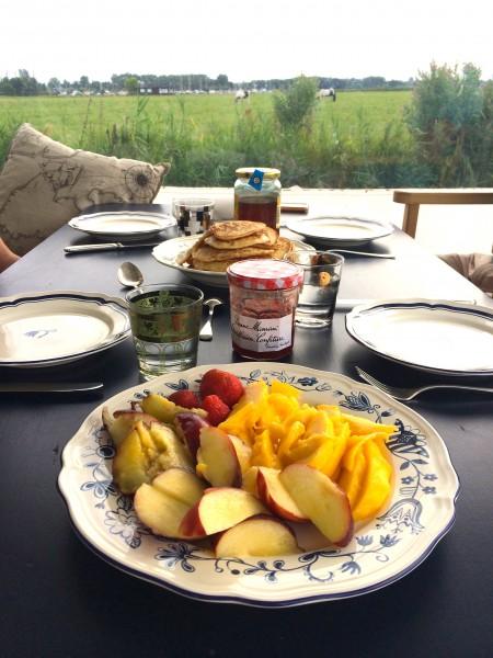 pancakes voor ontbijt made by ellen